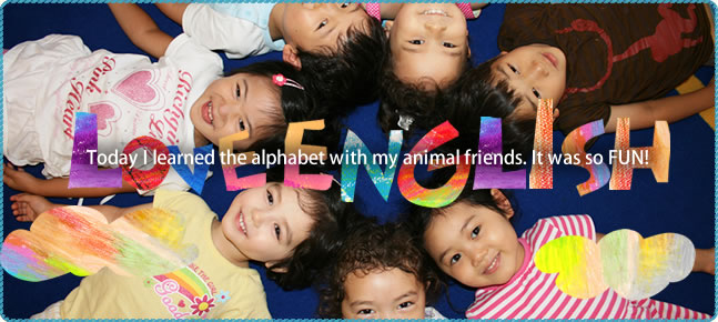 Today I learned the alphabet with my animal friends. It was so FUN!
