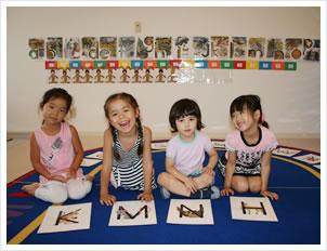 幼稚園児英語クラス